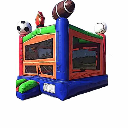 sports bounce house inflatable
