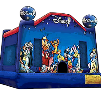 disney theme bounce house