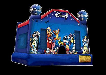 disney theme bounce house