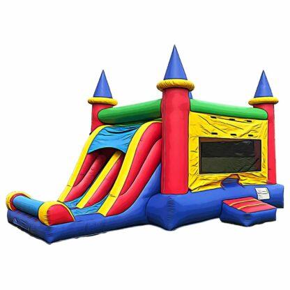 dual slide combo inflatable