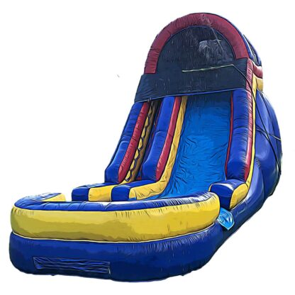 giant waterslide inflatable
