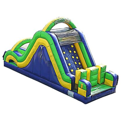radical run 30 feet obstacle course inflatable