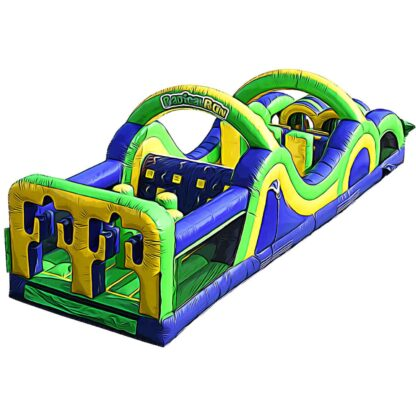radical run 35 feet obstacle course rental