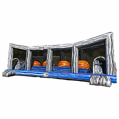 wipeout obstacle course inflatable