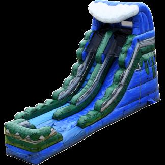 big wave waterslide inflatable